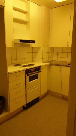 Asunto nro 1, keittiö