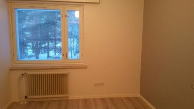 Tämä pienen pieni huoneisto soveltuu esimerkiksi tilapäisesti Ivalossa asuvalle henkilölle, jolle  tärkeintä on rauhallinen nukkumapaikka tai levähdyspaikka. Huoneisto soveltuu myös toimistohuoneeksi  tai miksei myös varastoksi.