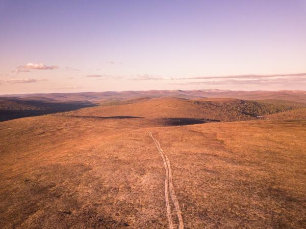 Kuvassa Rautulammen aluetta. Kuva: Rolloutdoors