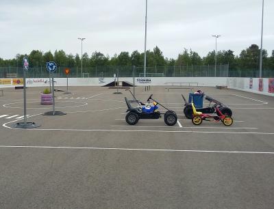 Kuva liikennepuistosta.